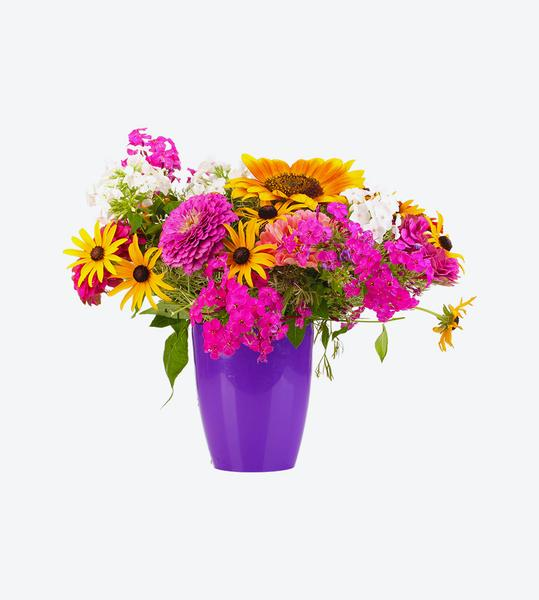 Arreglo flores variadas